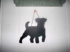 puppy small Jack Russell TERRIER SHAPE chalk board black board birthday pet