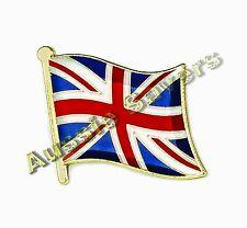 UNITED KINGDOM (UNION JACK) FLAG HAT PIN / BADGE - BRAND NEW