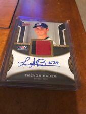 2009 Upper Deck USA Baseball Jersey Autograph Auto Patch Trevor Bauer RC 25/25