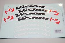 Adhésifs/autocollants/stickers roues Vision Metron 40 tubulaire pour 2 ruote