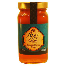 Greek Raw Organic Honey Pine 800g glass jar