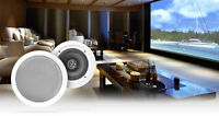 "Pair Rockville HC655 6.5"" 500 Watt In-Ceiling Home Theater Speakers 8 Ohm"