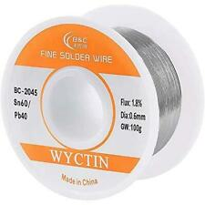 Wyctin Diameter 06mm 100g 6040 Active Solder Wire With Resin Core For