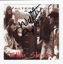 "Walter Trout Signed ""Tellin' Stories"" CD Jacket. PSA/DNA* (A1732)"