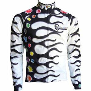 "Franklin Cycling Jersey / BLAZING / UK size M (38-39""chest) / Long sleeve"