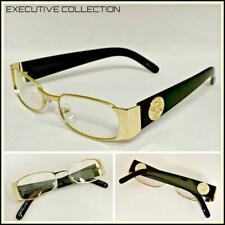 26e4154b475 Men Classy Exotic Elegant Retro Style Clear EYE GLASSES Gold Black Fashion  Frame