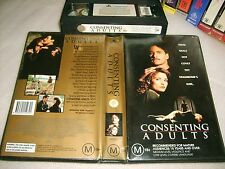 VHS *CONSENTING ADULTS(Holywood Pictures)* RARE OZ Buena Vista Issue Kevin Kline