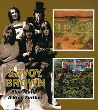 Blue Matter/A Step Further - 2 DISC SET - Savoy Brown (2005, CD NUOVO)