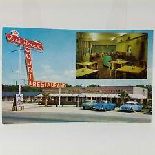 Jack Nolens Restaurant Orangeburg SC Roadside Cars Ektachrome 1950s Unposted