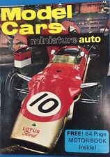 MODEL CARS Magazine October 1968 published in Great Britain
