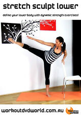 Ballet Barre EXERCISE DVD - Barlates Body Blitz STRETCH SCULPT LOWER!