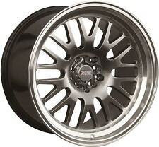 XXR 531 17X8 Rims 4x100/114.3 +25 Chromium Black Wheels (Set of 4)