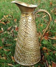 More details for beautiful vintage english 20th century brass jug s&s