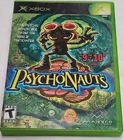 Psychonauts Microsoft Xbox Classic 2005 Complete CIB Tested
