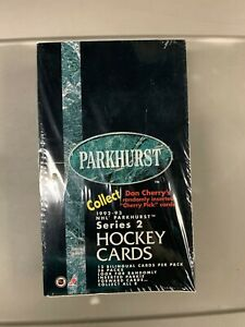 1992-93 Parkhurst NHL Hockey Series 2 Factory Sealed Box 36 Packs