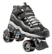 size 9.5 mens SKECHERS 4 WHEELER ROLLER SKATES skate quad derby boys adult NIB