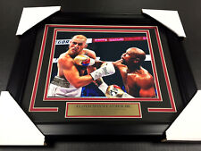 FLOYD MAYWEATHER JR CONOR MCGREGOR BOXING FRAMED 8X10 PHOTO #2