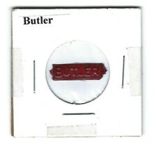 Butler Chewing Tobacco Tag B865 Embossed