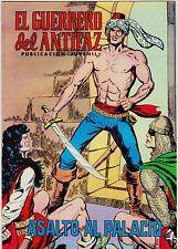 EL GUERRERO DEL ANTIFAZ (Reedición color) nº: 135.  Valenciana, 1972-1978.