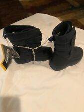Falls Creek Infant Sz 7 Snow Boots Dk Blue Thinsulate NWT