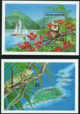 GRENADA GRENADINES - 1986 'WILDLIFE' Miniature Sheets x 2 MNH SG789MS [A3658]
