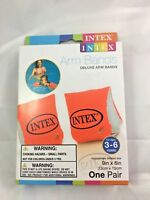 Intex Deluxe Arm Bands Child Swim Pool Beach Float Age 3-6 Special Needs Safety