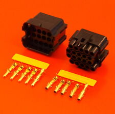 Genuine Lucas Rists 20 Way Black TTS Series Electrical Wiring Connector Kit