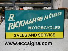 RICKMAN METISSE MOTORCYCLE  DEALER SIGN PARTS  EC0127