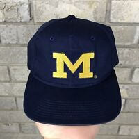 Vintage 90s Michigane Wolverines Sports Specialties Youngan Snapback Plain Logo