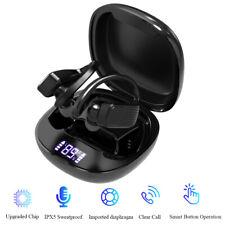 Bluetooth 5.0 Headset TWS Wireless Earphones Earbuds Stereo Headphones Ear Hook