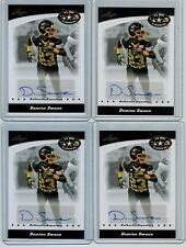 (4) 2011 LEAF U.S. ARMY DAMIAN SWANN AUTO LOT GEORGIA BULLDOGS N.O. SAINTS