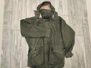 Keela Ventile Falkland Vintage Jacket Khaki Green Mens Large Outdoors Coat