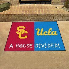 USC Trojans - UCLA Bruins House Divided All Star Area Rug Mat