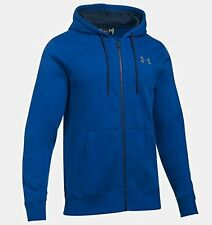 Under Armour Storm Herren Hoodie Shirt Jacke UA Rival 1280781 BLAU XS