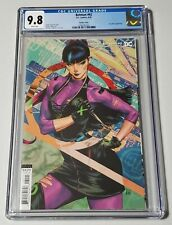 """Batman #92 CGC Graded 9.8 With White Pages """"Artgerm"""" Variant Punchline Cover!"""