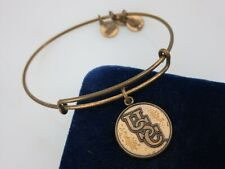 Alex & Ani Usc Bangle - Brass Finish