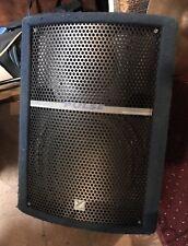 "Yorkville Floor Monitor Wedge 12"" Speaker Blue 150w 8ohm W/ Speakon PM12 Series"