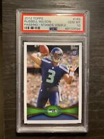 2012 TOPPS RUSSELL WILSON #165 RC ROOKIE CARD PSA 10 Seattle Seahawks