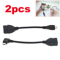 Micro USB Host Cable Male to Female OTG Adapter For Samsung Note 2 3 S4 S6 Edge