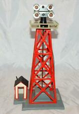 CLEAN American Flyer 774 23774 Floodlight Tower 2x2 version w/shack S 1950s Post