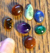 Real Gemstone Chakra set of 7 - 5 grams New Age Chakra Healing Energy Intention
