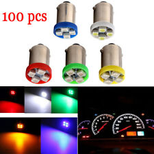 100pcs Instrument lights BA9S T4W 1210-4SMD Car LED Bulbs  Interior Dome lamp