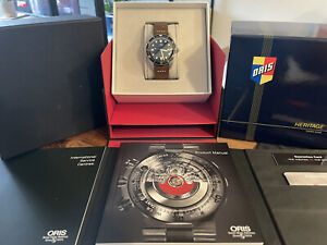 Oris Divers Sixty Five 65. 42mm Blue Dial Automatic Watch.