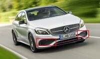 New Genuine Mercedes Benz A Class W176 AMG Set Of Front Bumper Lower Grills
