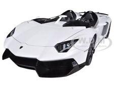 LAMBORGHINI AVENTADOR J ROADSTER WHITE 1/18 DIECAST MODEL CAR BY AUTOART 74674