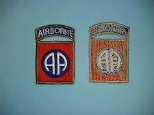 b0273 WW 2 US Army 82nd Airborne Infantry Division OD border Parachute PIR R3A