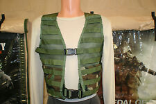 MOLLE II S.D.S. WOODLAND CAMO LOAD BEARING VEST EXC COND 8465-01-465-2056