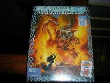 NEW Elvira 2 The Jaws of Cerberus Atari ST Big Box 1991 *Factory Sealed**V.Rare*