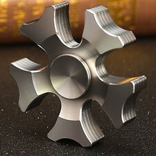 Premium Edelstahl F5 Jagd Axt Fingerspitze Spin Gyro Hand Spinner EDC Spielzeug