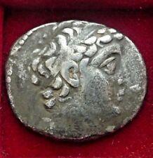 DEMETRIOS II Nikator Seleukid Kingdom, AR Tetradrachm Eagle Dated 128/7 BC.